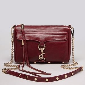 Rebecca Minkoff Mac crossbody bag in cherry red